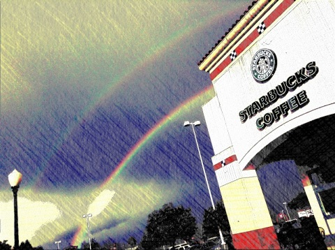 A cappuccino at the end of the rainbow . . .